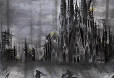 Una de las ilustraciones que acompañarán a los relatos
