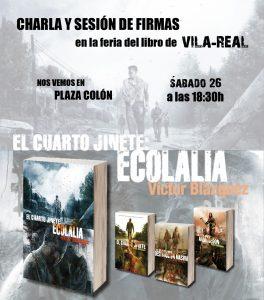 Víctor Blázquez – Autor de El cuarto jinete   Sitio web oficial